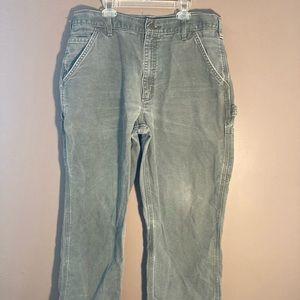 Carhartt dungaree fit cargo pants 36x30